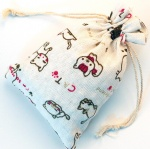Custom printed design cotton bag