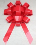 Wholesale magnetic giant 30 inch shiny red car bow