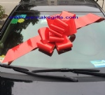 23inch red butterfly car bow